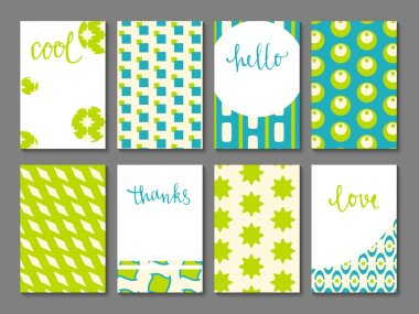 Set of printable journaling cards