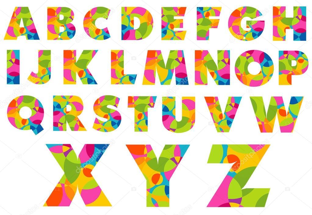 Alphabet Letters Logo Stock Vector C Twindesigner 60265941