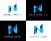 Photo Letter N Logo