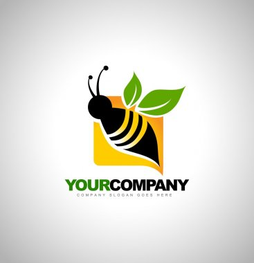Bee Logo Design Concept