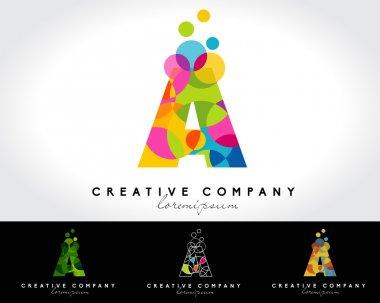 Letter A vector logo