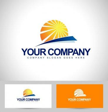Sun Logo Design
