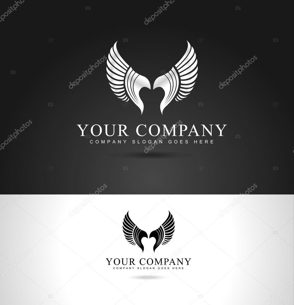 Wings Logo Design