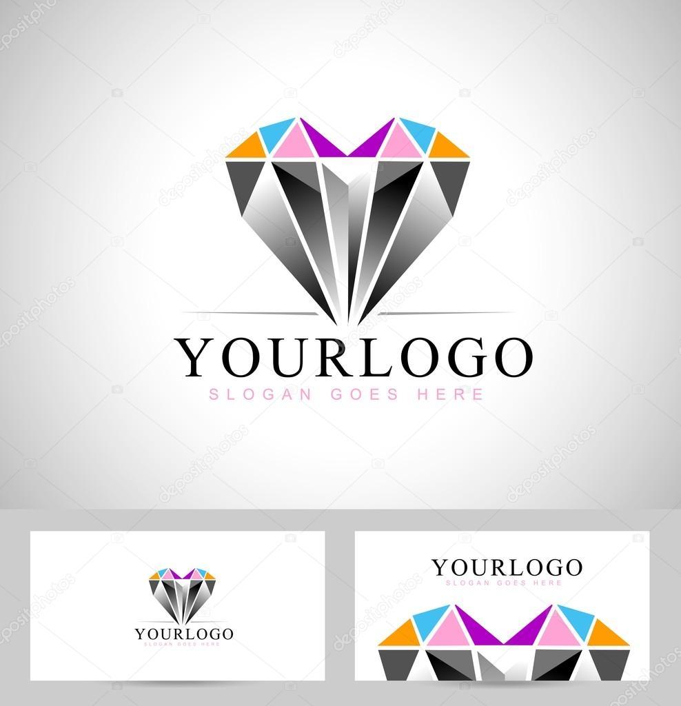 diamond logo design � stock vector 169 twindesigner 66982115