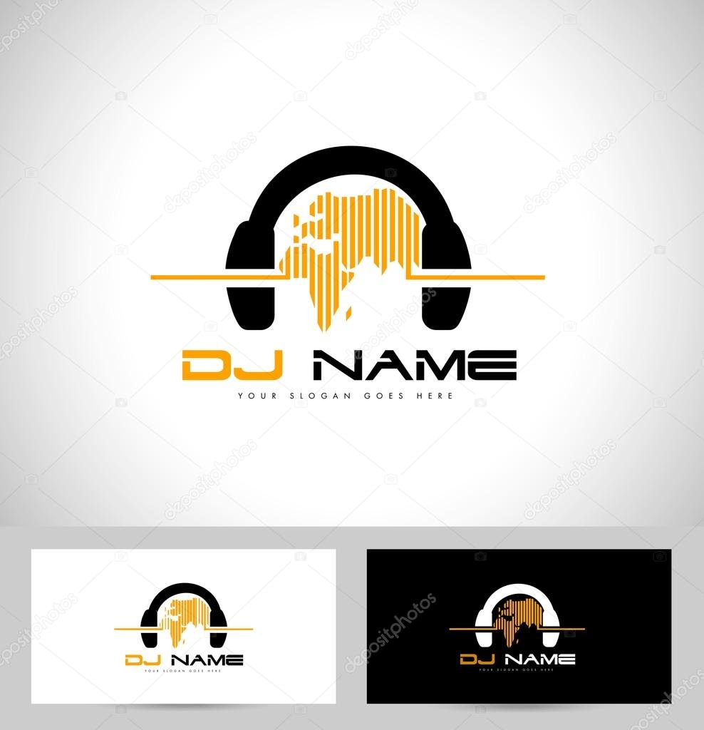 Diseo de logotipo de dj archivo imgenes vectoriales dj logo design creative vector logo design with headphones and world map vector de twindesigner gumiabroncs Image collections