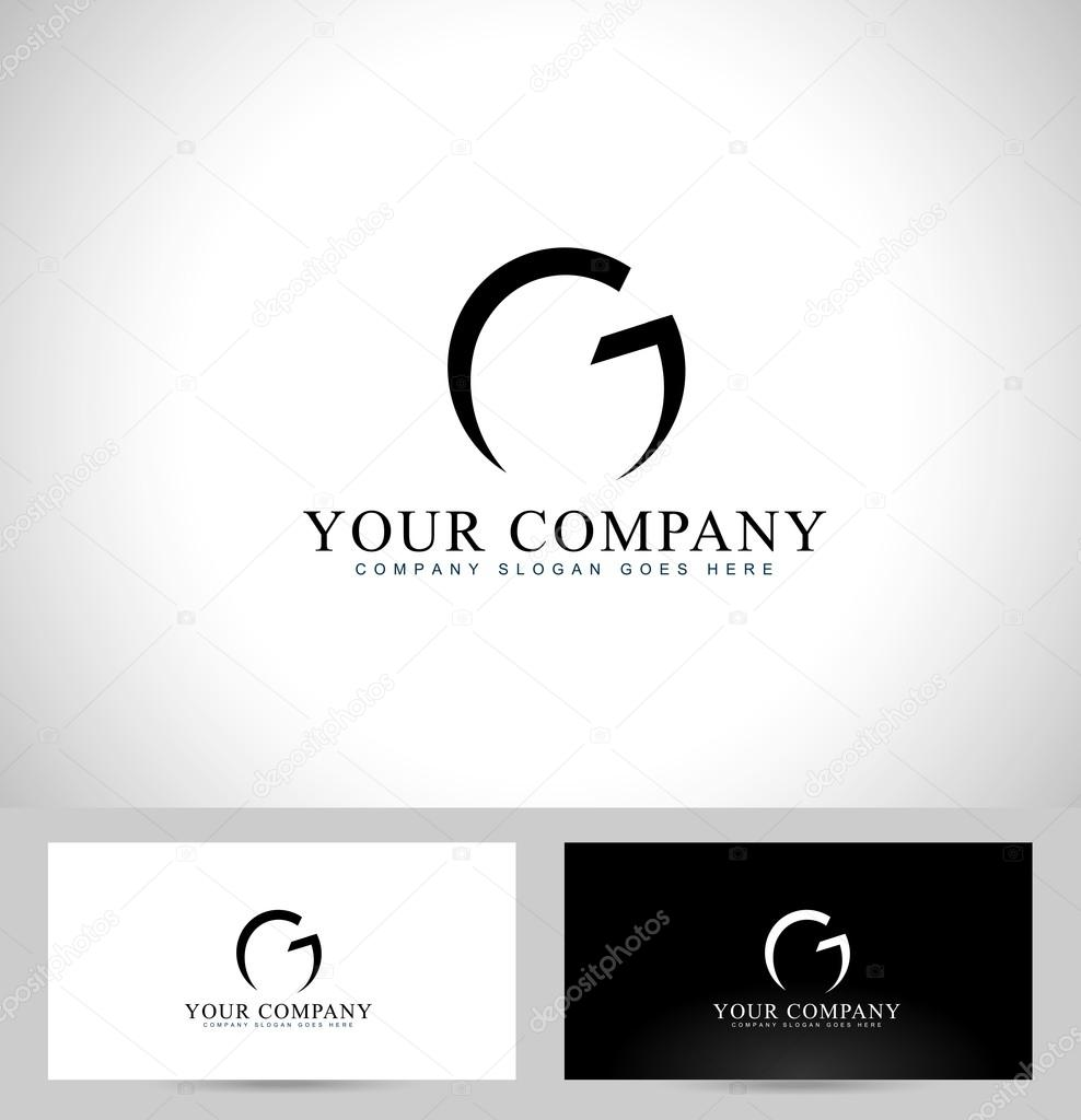 letter g logo design � stock vector 169 twindesigner 66982353