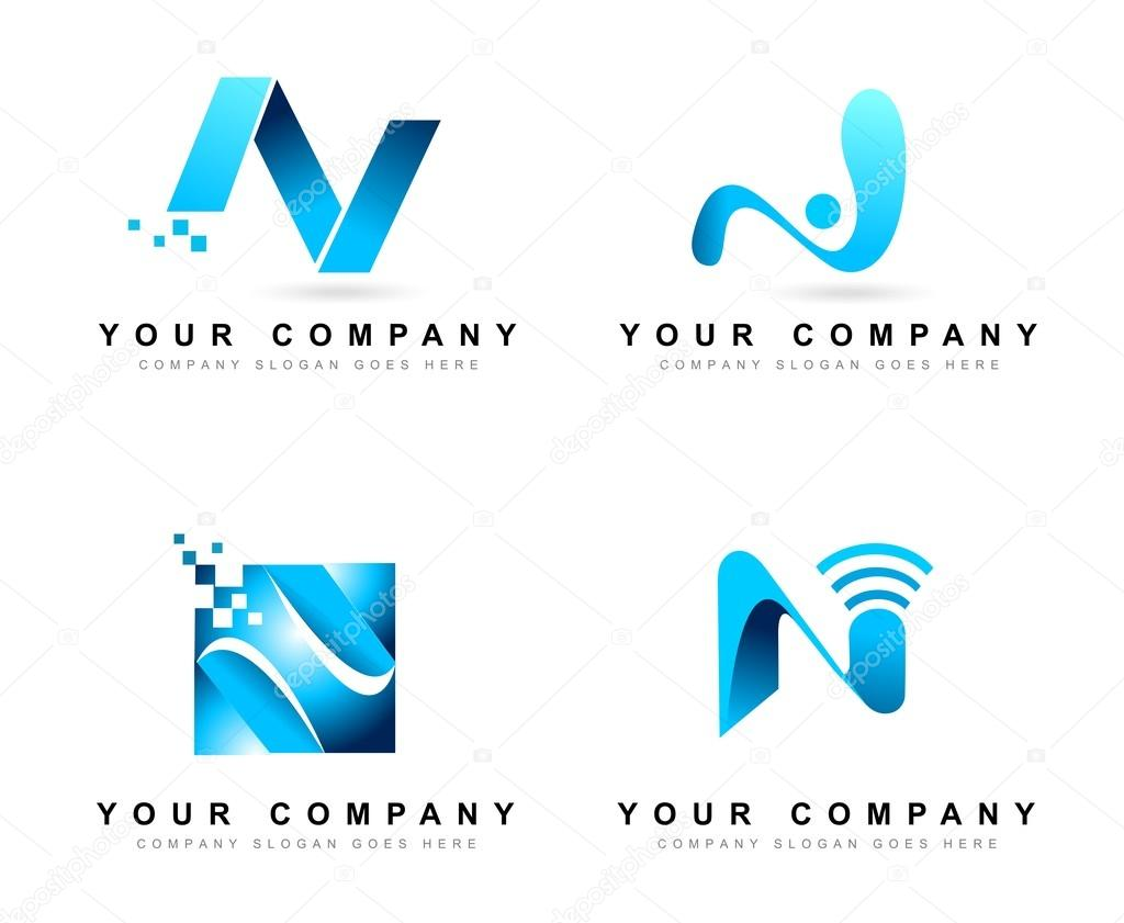 letter n logo design � stock vector 169 twindesigner 66982491