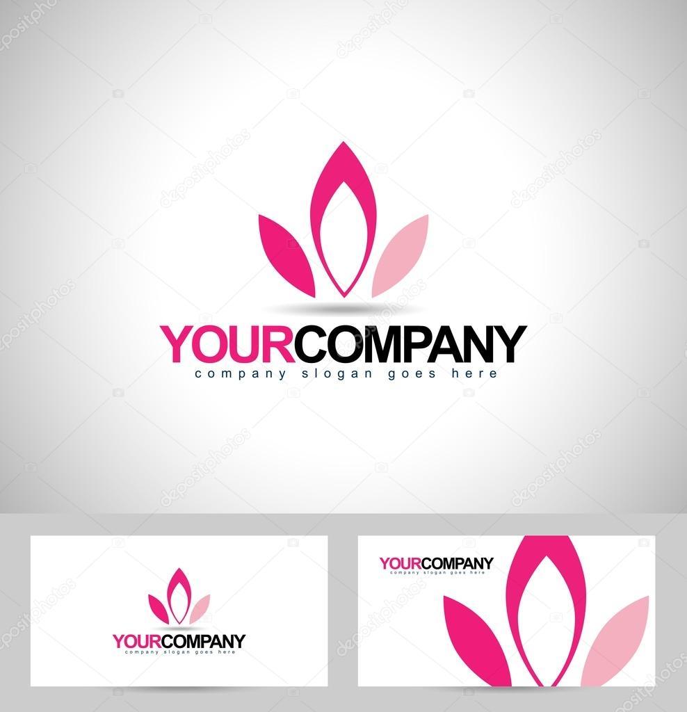 Lotus Logo Design — Stock Vector © twindesigner #66982783