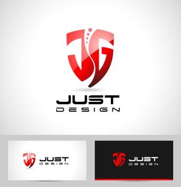 JG Letters Design Logo