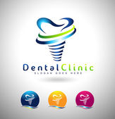 Fotografie Dental Implants Logo