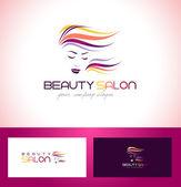 Szépségszalon Logo tervezés