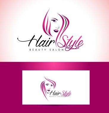 Hairstyle Salon Logo Design