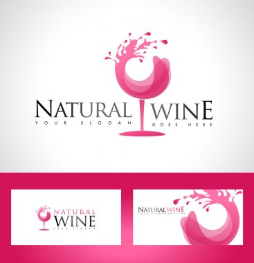 Wine Glass Logo design
