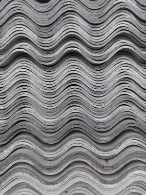 wavy full frame background slate of different shades of gray color