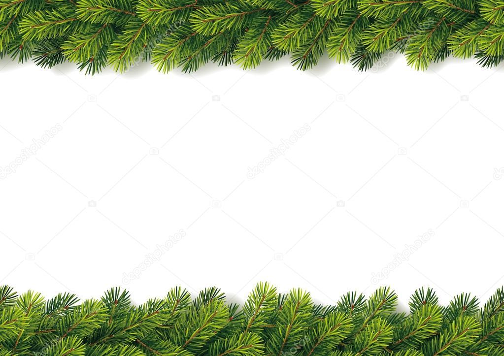Detailed Seamless Christmas Garland