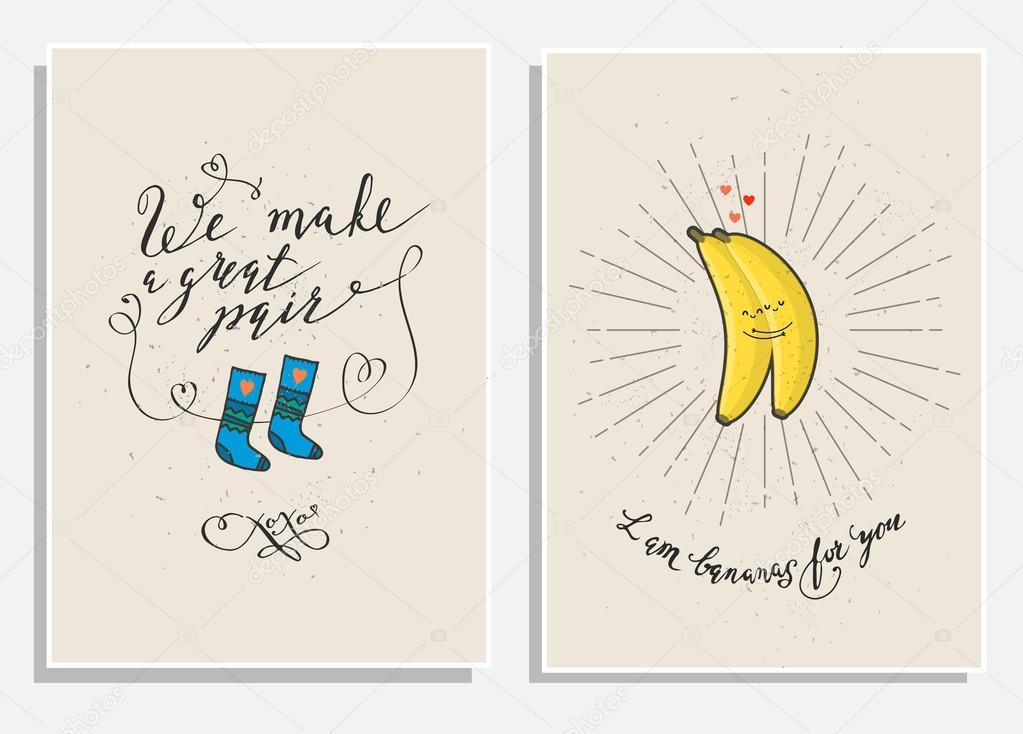 Frases Divertidas De Amor Archivo Imagenes Vectoriales