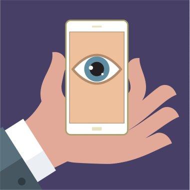 Privacy smartphone concept