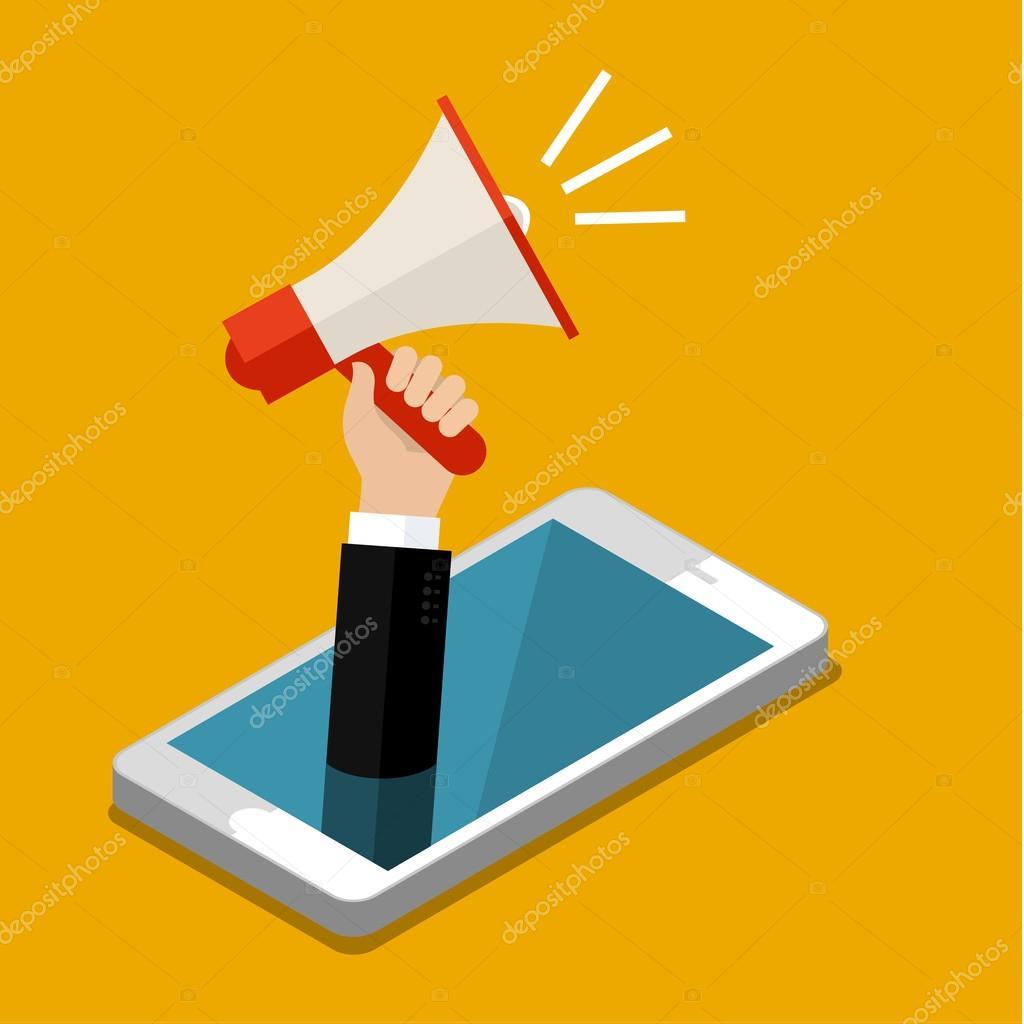 Concept of digital marketing