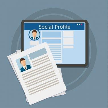 Search Social Profile