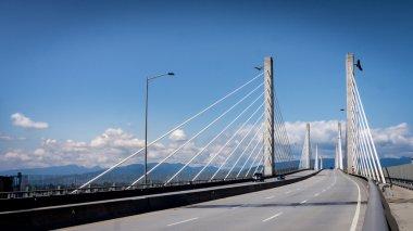 Golden Ears Bridge Looking North