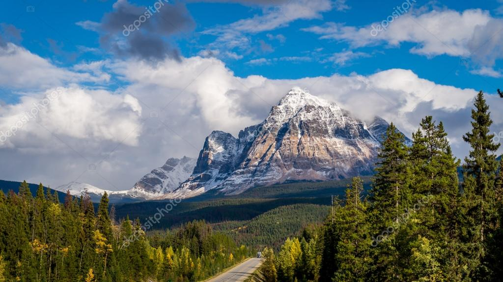 Mount Fitzwilliam in the Canadian Rockies