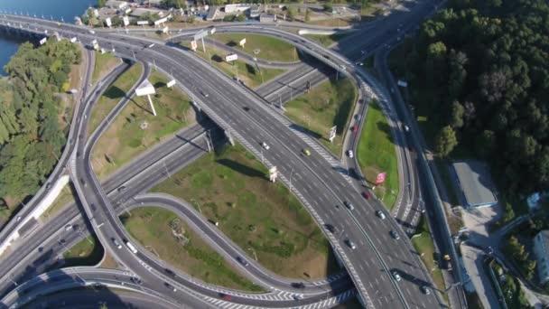 Dvou úrovni silniční křižovatka, Kyjev