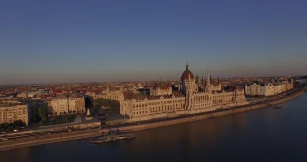 Jó minőségű légi felvételek Országház gótikus stílusban