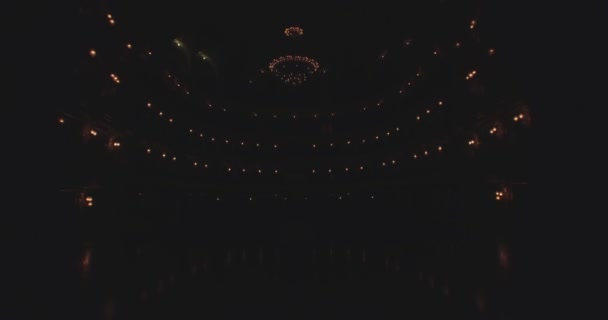 Flying inside the Opera house