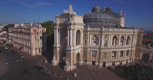 Amazing Opera House  true pearl of European architecture, Aerial