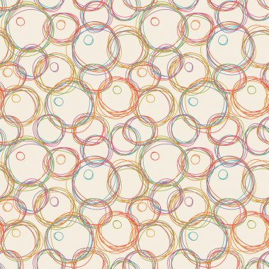 Seamless pattern with bubble blower