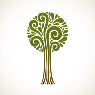 Icon tree of swirl element