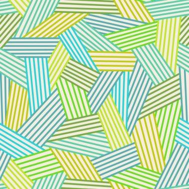 Seamless pattern with stylized grass