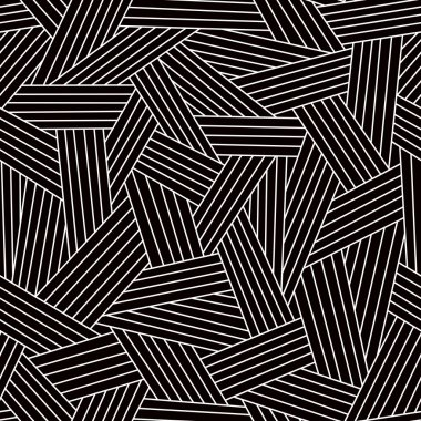 Black and white seamless pattern