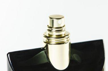 Elegant beautiful perfumes isolated on white background