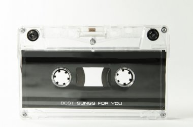 Old and beautiful audio tape
