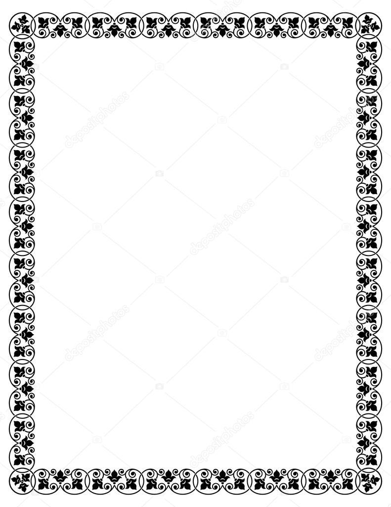 formato de pgina de carta archivo imgenes vectoriales