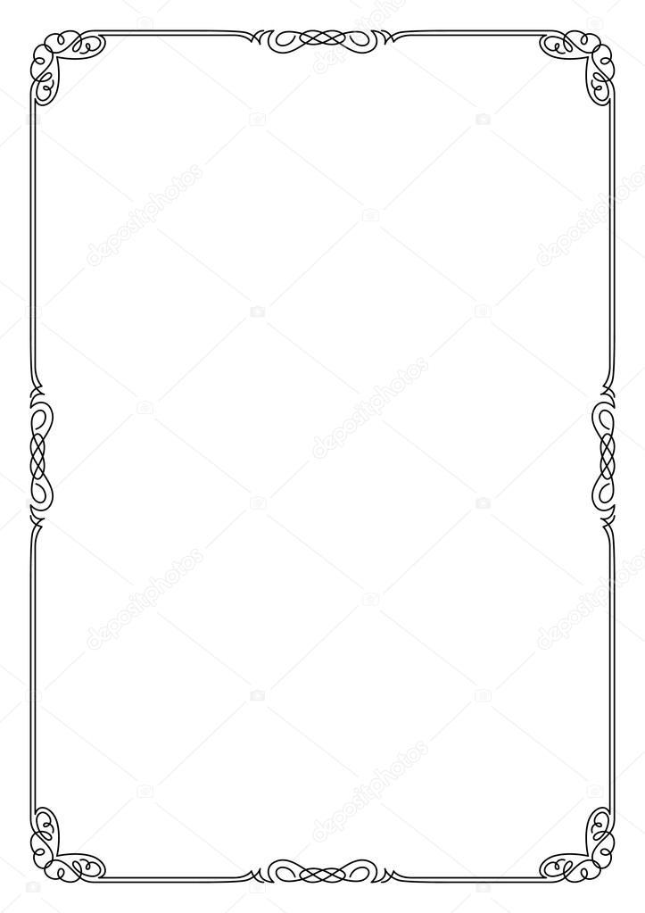 фото рамки для а4