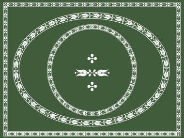 Ornamental frames and decorative element, vignette, divider, header.