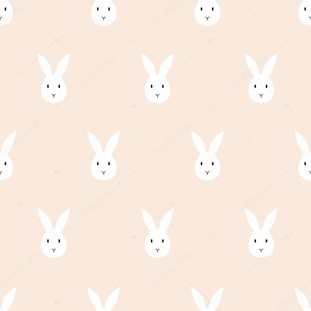 patrón de conejo sin costuras — Vector de stock © pacpumi@gmail.com ...