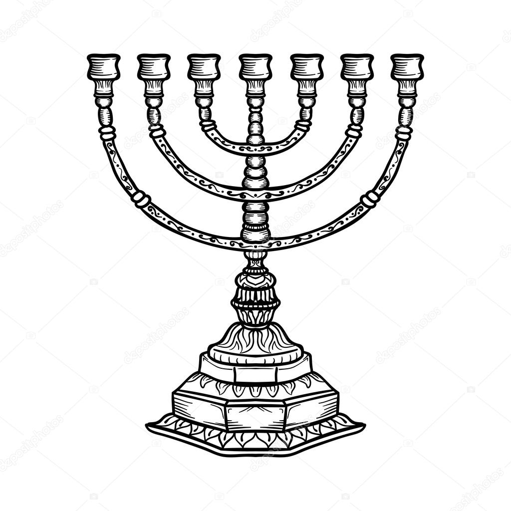 Jewish religious symbol menorah isolated on white background jewish religious symbol menorah isolated on white background stock photo biocorpaavc Image collections