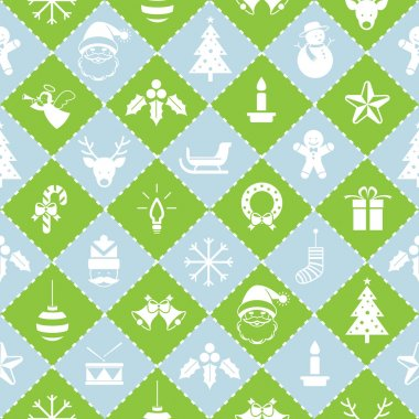 Seamless Pattern : Christmas Objects