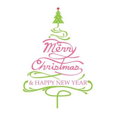 Merry Christmas, Christmas Tree Shape