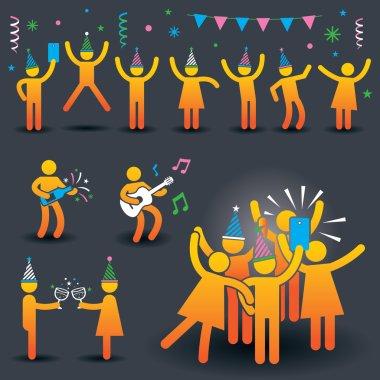 People Party Symbols