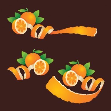 Peel Orange, Ribbon Like