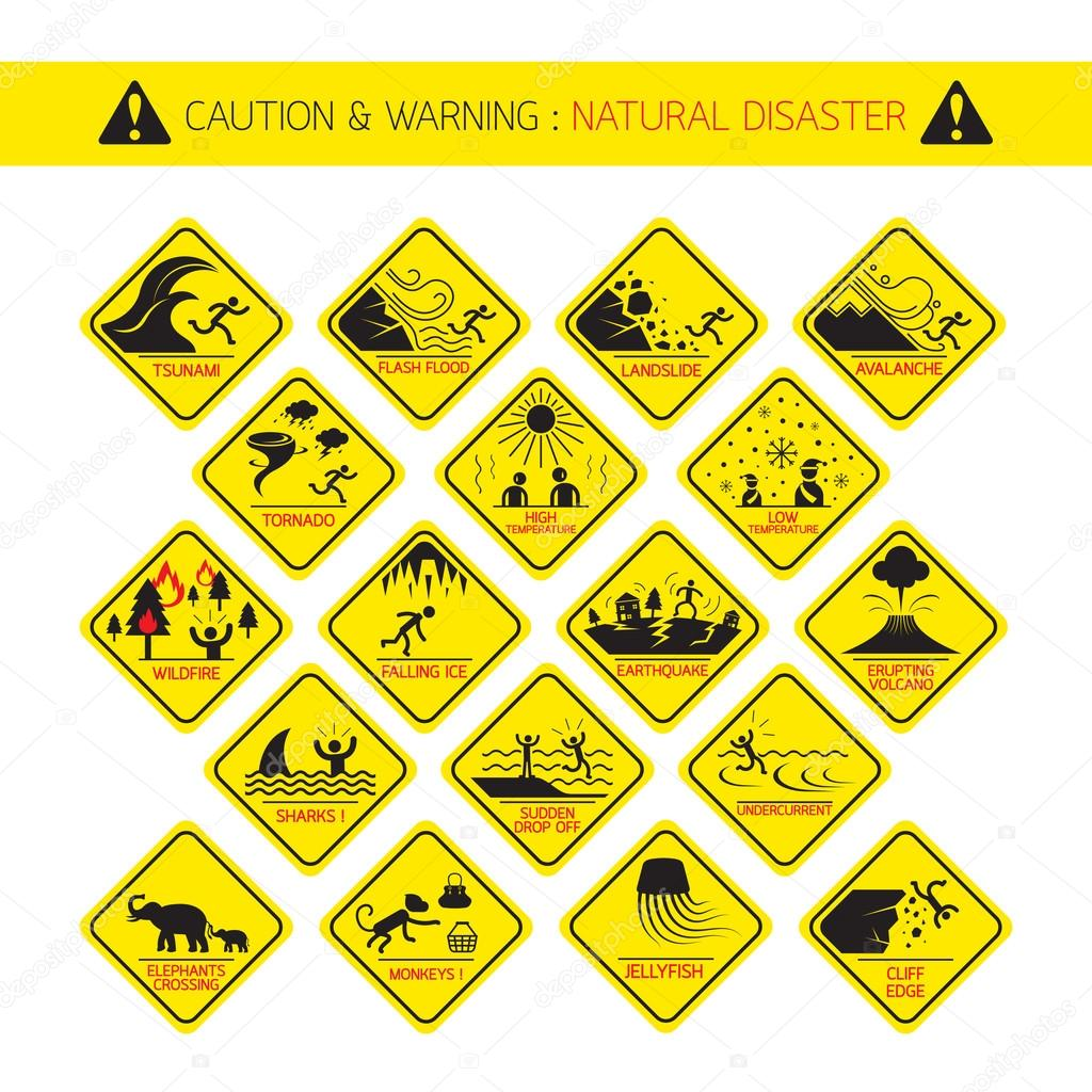 Natural Disaster Warning Signs