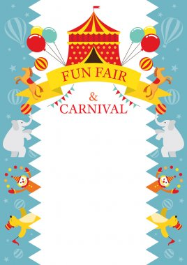 Fun Fair, Carnival, Circus, Frame