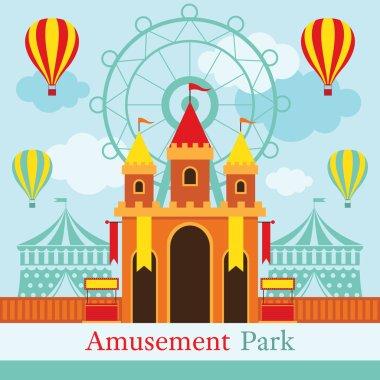 Castle, Amusement Park, Carnival, Fun Fair