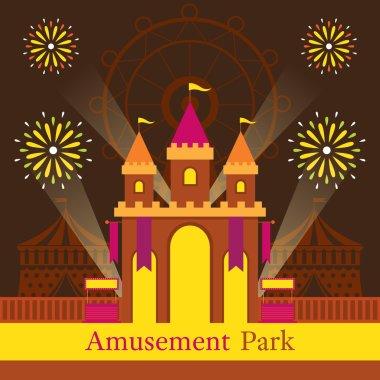 Castle, Amusement Park, Carnival, Fun Fair,