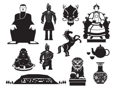 China History Mono Objects Set