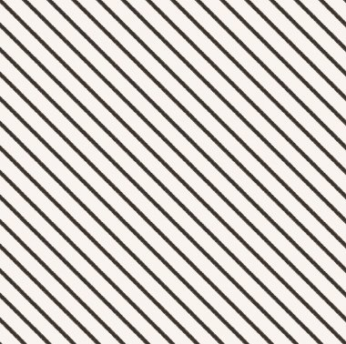 Seamless diagonal black and white stripes fabric pattern